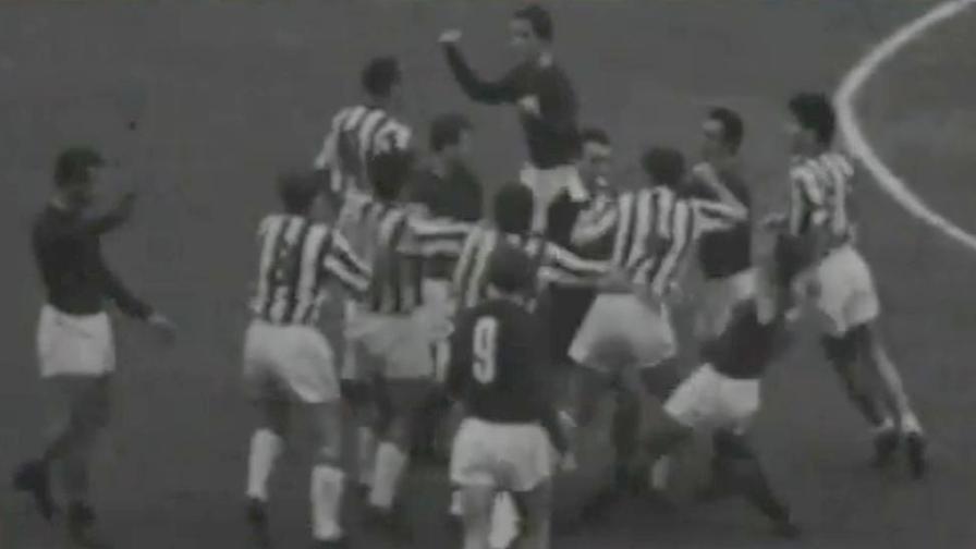 27 ottobre 1963,Ferrini insegue Sivori