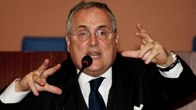 Lotito e i dubbi su Juve-Inter,la Procura Federale vuole vederci chiaro