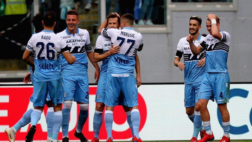 Corsa all'Europa:Lazio a valanga,Atalanta fermata in casa