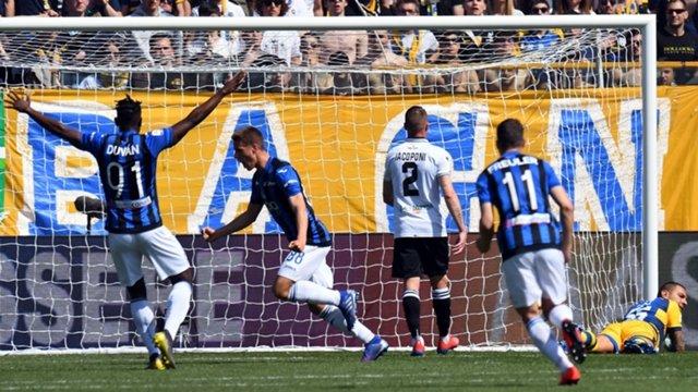 Corsa per l'Europa:l'Atalanta passa a Parma