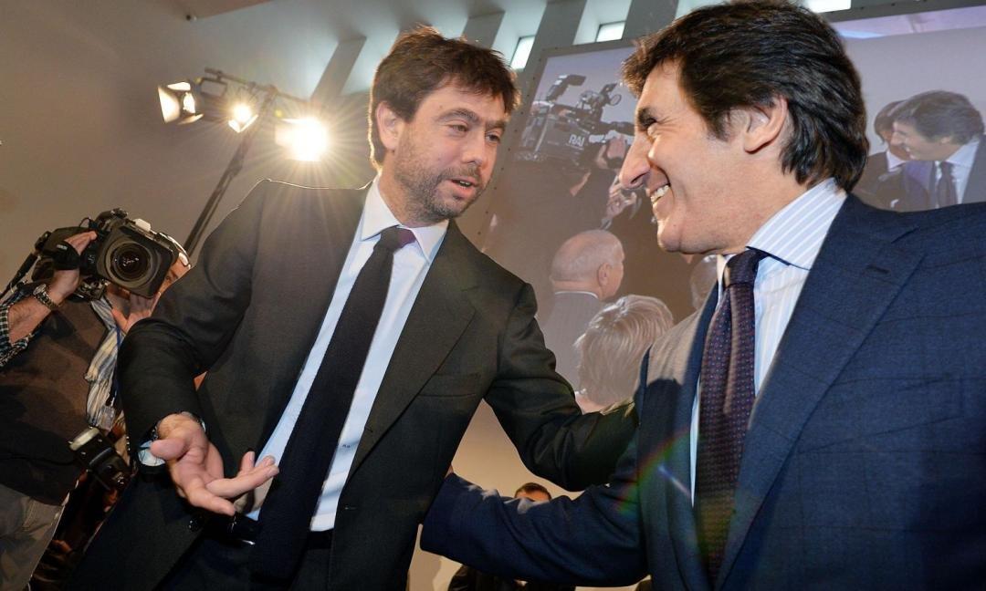 Cairo e Agnelli uniti contro la proposta di Mediapro