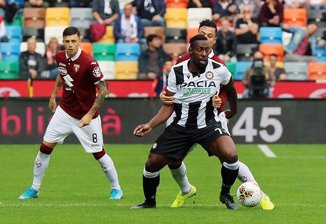 Toro inguardabile,l'Udinese lo stende