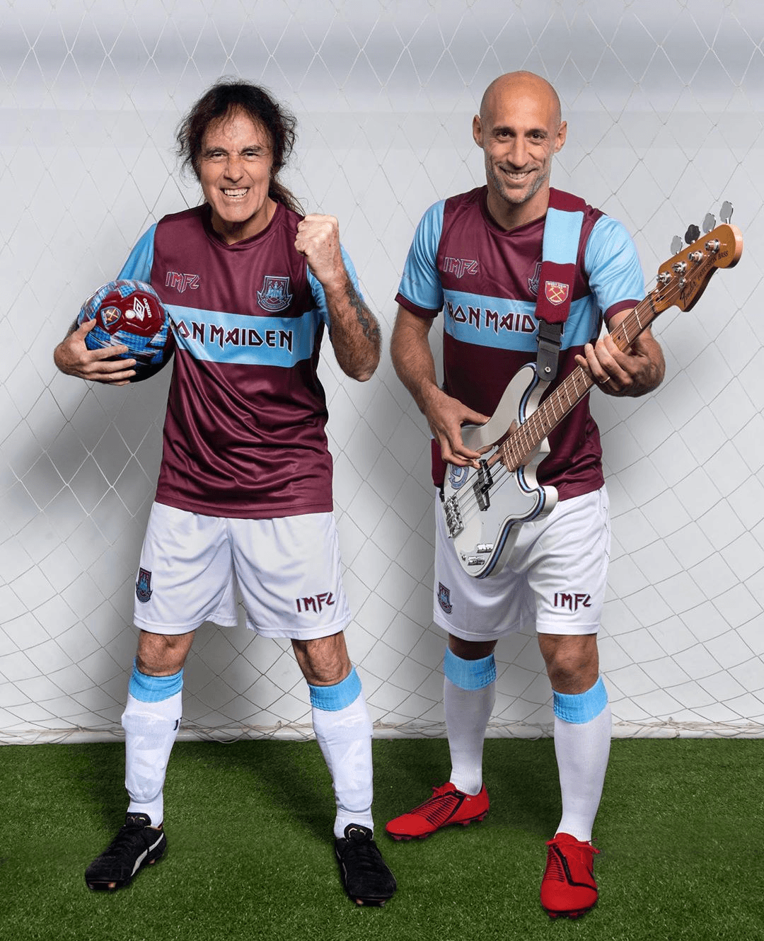 West Ham ed Iron Maiden finalmente insieme