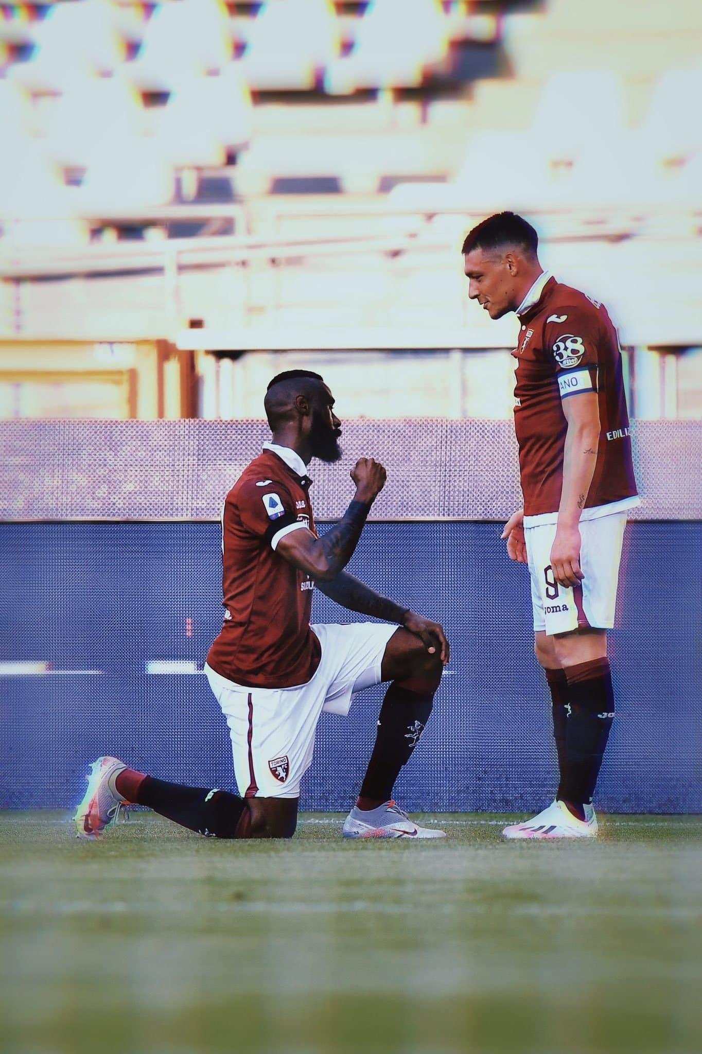 La dedica di Nkoulou dopo il gol