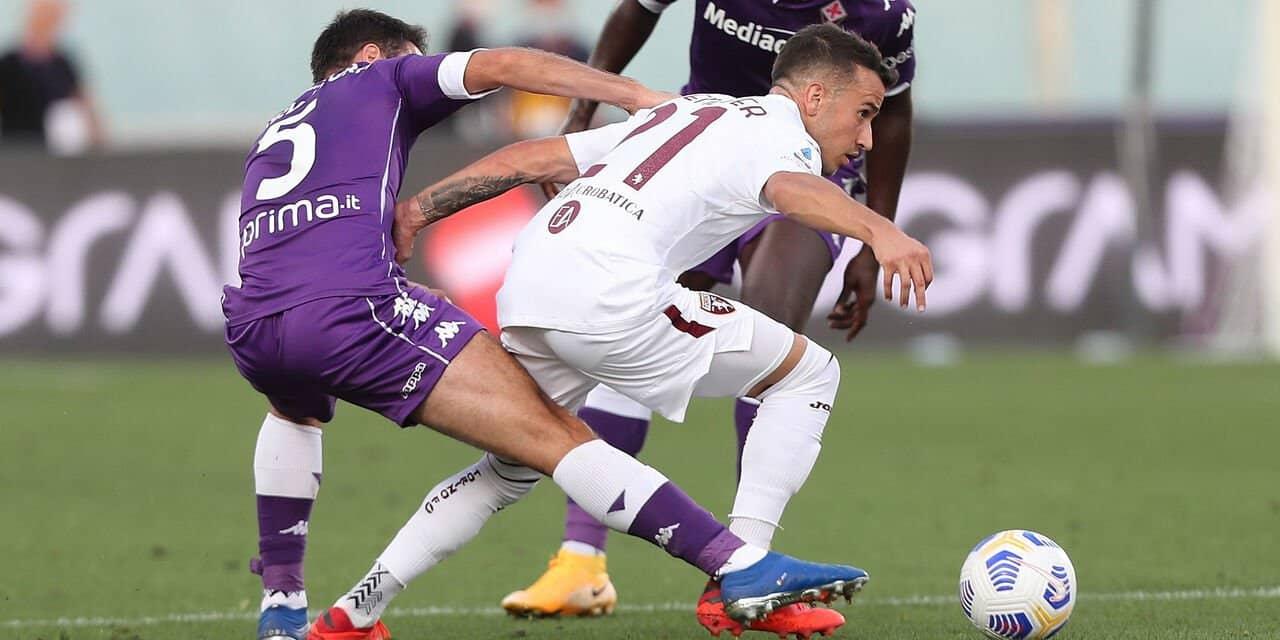 Fiorentina-Toro: i granata iniziano male