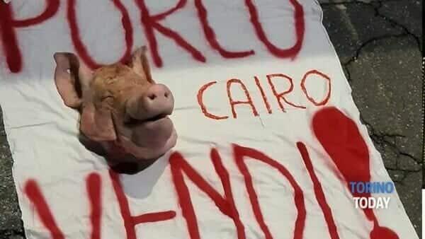 Testa di maiale per Cairo: indaga la digos