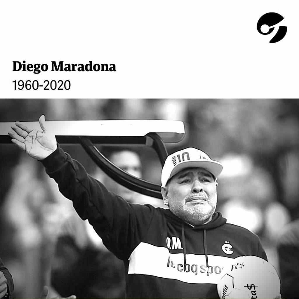 Maradona,morto per un arresto cardiorespiratorio