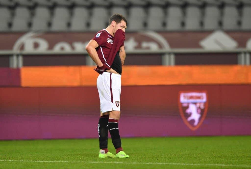 """Ansa: """"Belotti è uno dei possibili positivi nel Torino"""""""